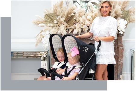 Billie Faiers designs with My Babiie