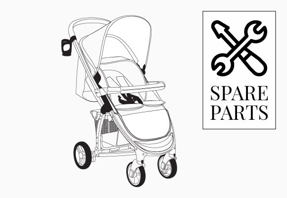 My Babiie MB200 Pushchair Spare Parts