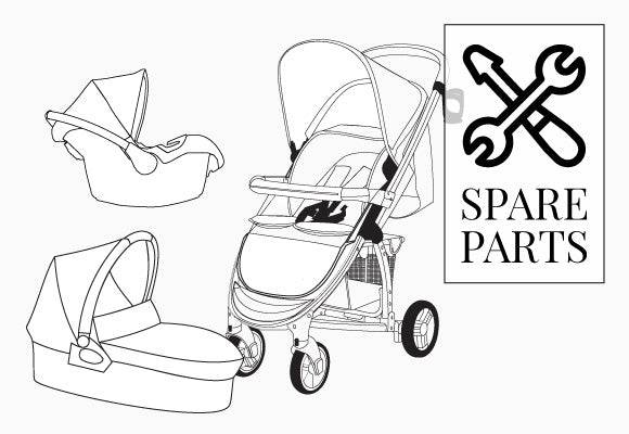 My Babiie MB200 Travel System Spare Parts