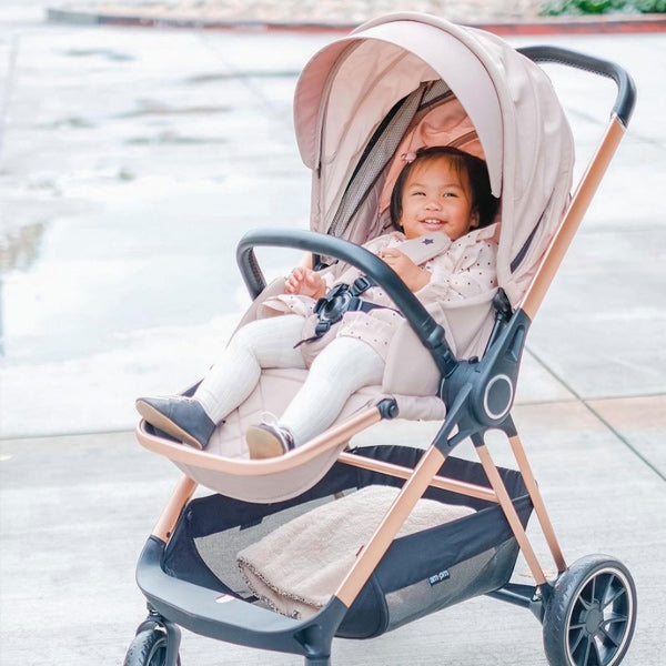 My Babiie Christina Milian Rose Gold Nude Travel System