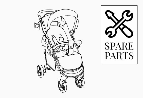 My Babiie MB30 Pushchair Spare Parts