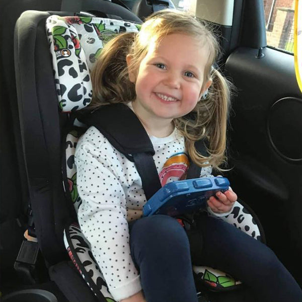My Babiie Katie Piper Rose Leopard Group 123 Isofix Car Seat