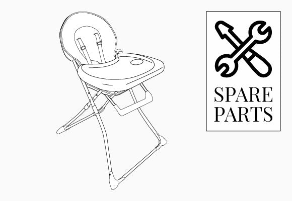 My Babiie Compact Highchair Spare Parts