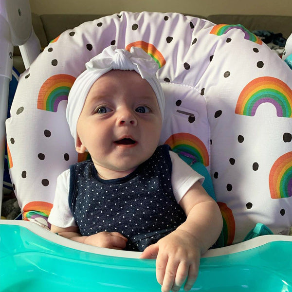 My Babiie Rainbow Trust Highchair