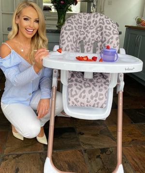 My Babiie Highchairs designed with Katie Piper, Billie Faiers, Sam Faiers, Christina Milian, and Nicole Snooki Polizzi