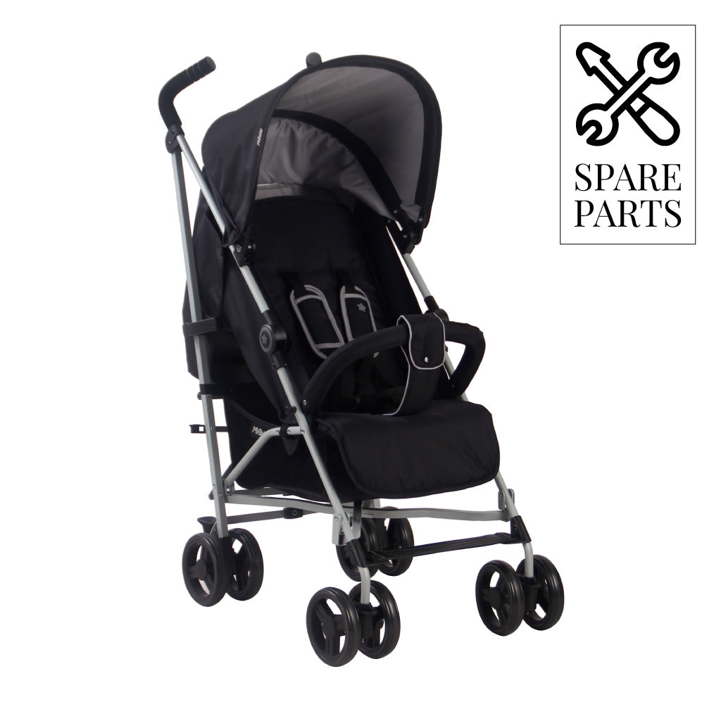 Spare Parts for MB02B - My Babiie Black Lightweight Stroller