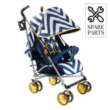 Spare Parts for My Babiie Blue Chevron MB02BC Lightweight Stroller