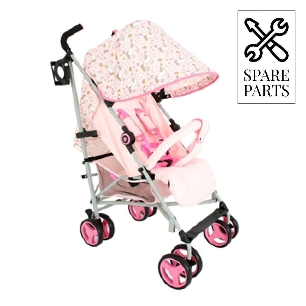Spare Parts for My Babiie MB02 Pink Unicorn Lightweight Stroller