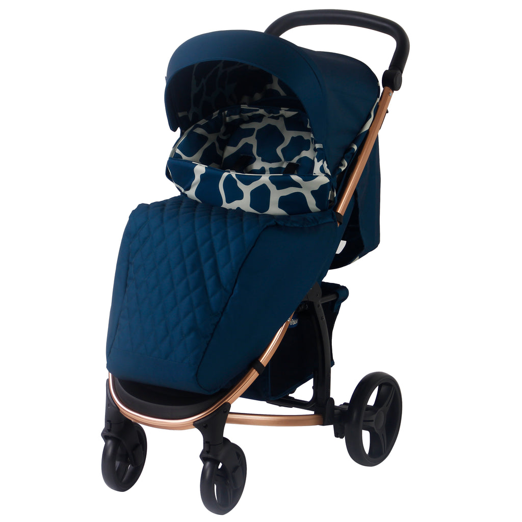 My Babiie Dani Dyer Navy Giraffe pushchair