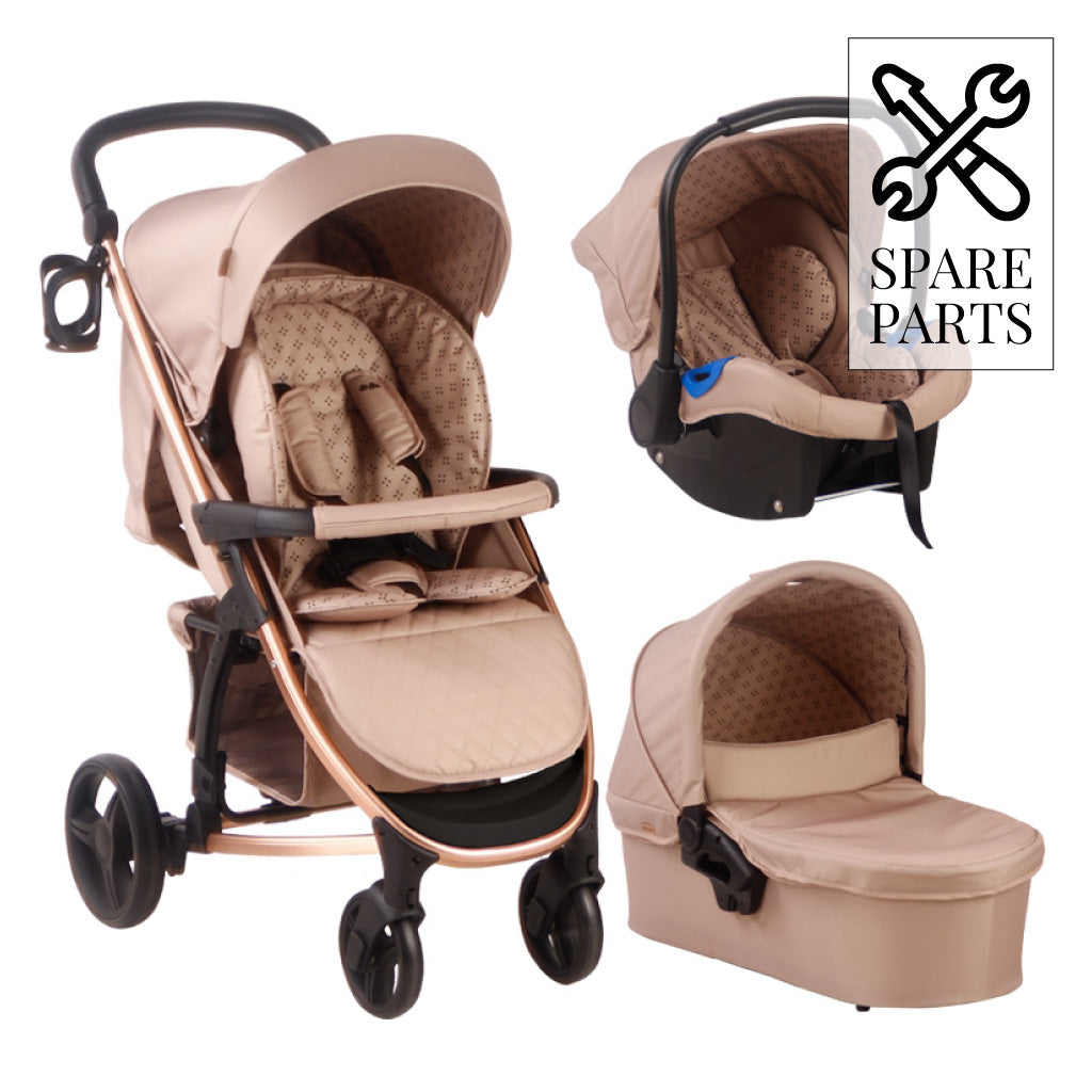 Spare Parts for Samantha Faiers Mocha Monogram Travel System