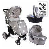 Spare Parts for Billie Faiers Grey Stars Travel System
