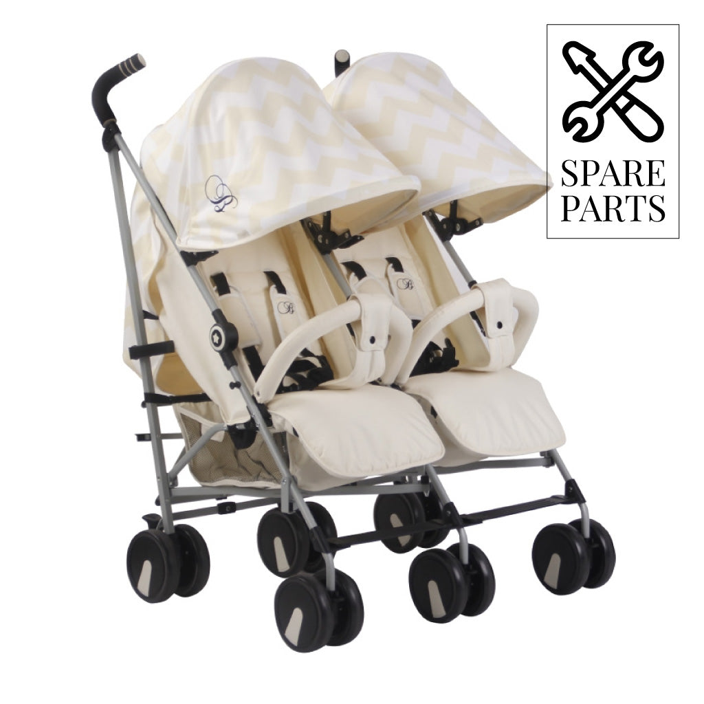 Spare Parts for Billie Faiers Cream Chevron Double Stroller