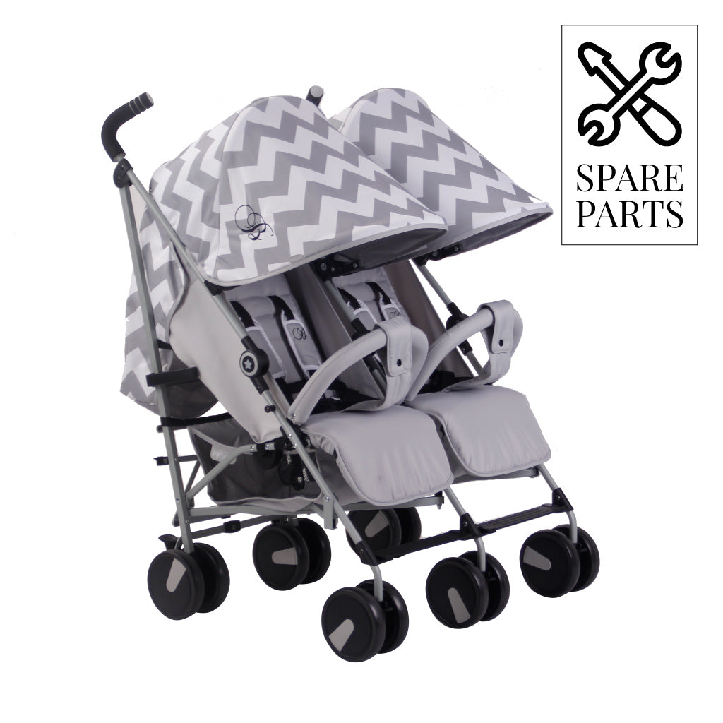 Spare Parts for Billie Faiers Grey Chevron Double Stroller