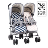 Spare Parts for Samantha Faiers Grey Melange Double Stroller