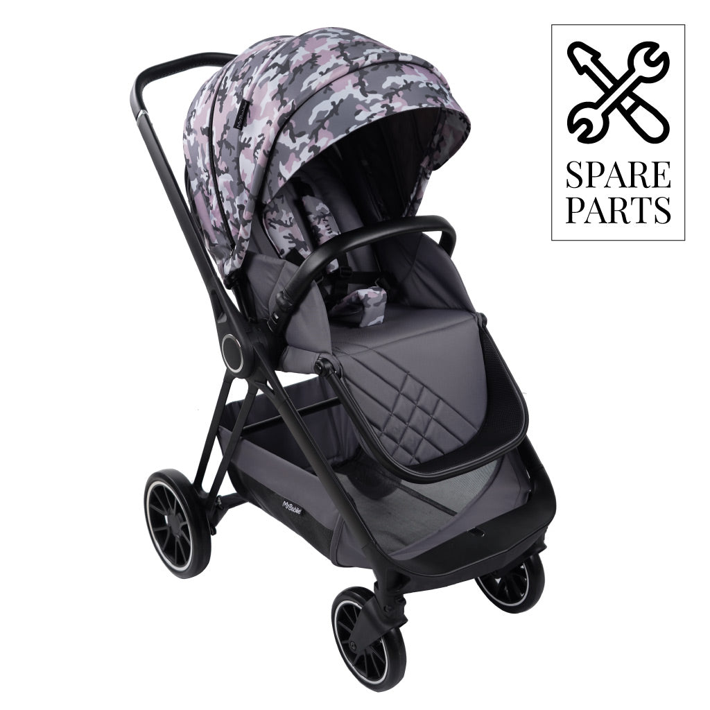 "Spare Parts for Nicole ""Snooki"" Polizzi Pink Camo MB250 Pushchair"