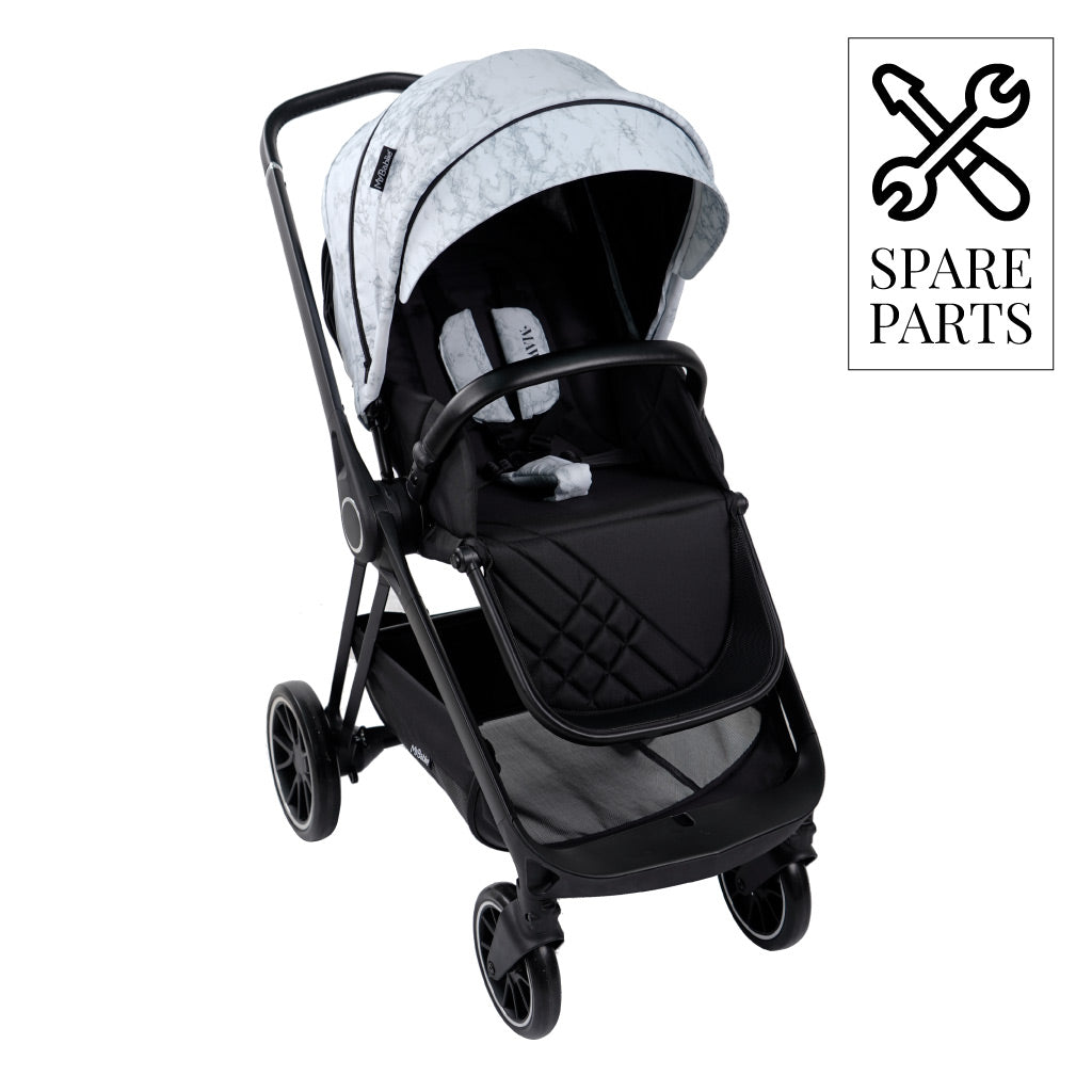 "Spare Parts for Nicole ""Snooki"" Polizzi Grey Marble MB250 Pushchair"