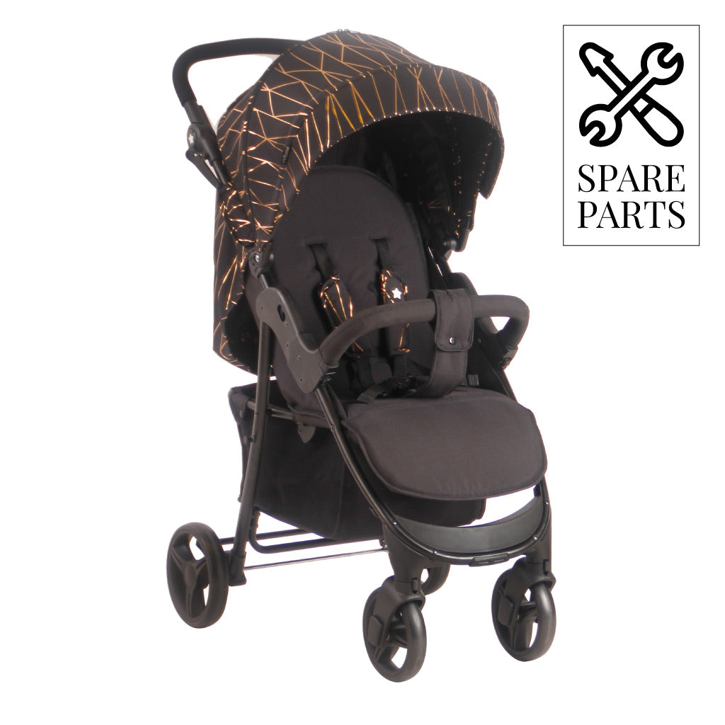 Spare Parts for My Babiie Rose Gold and Black Pushchair