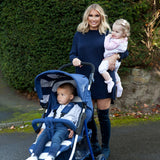 Billie Faiers Blue Stripes MB30 Pushchair  Edit alt text