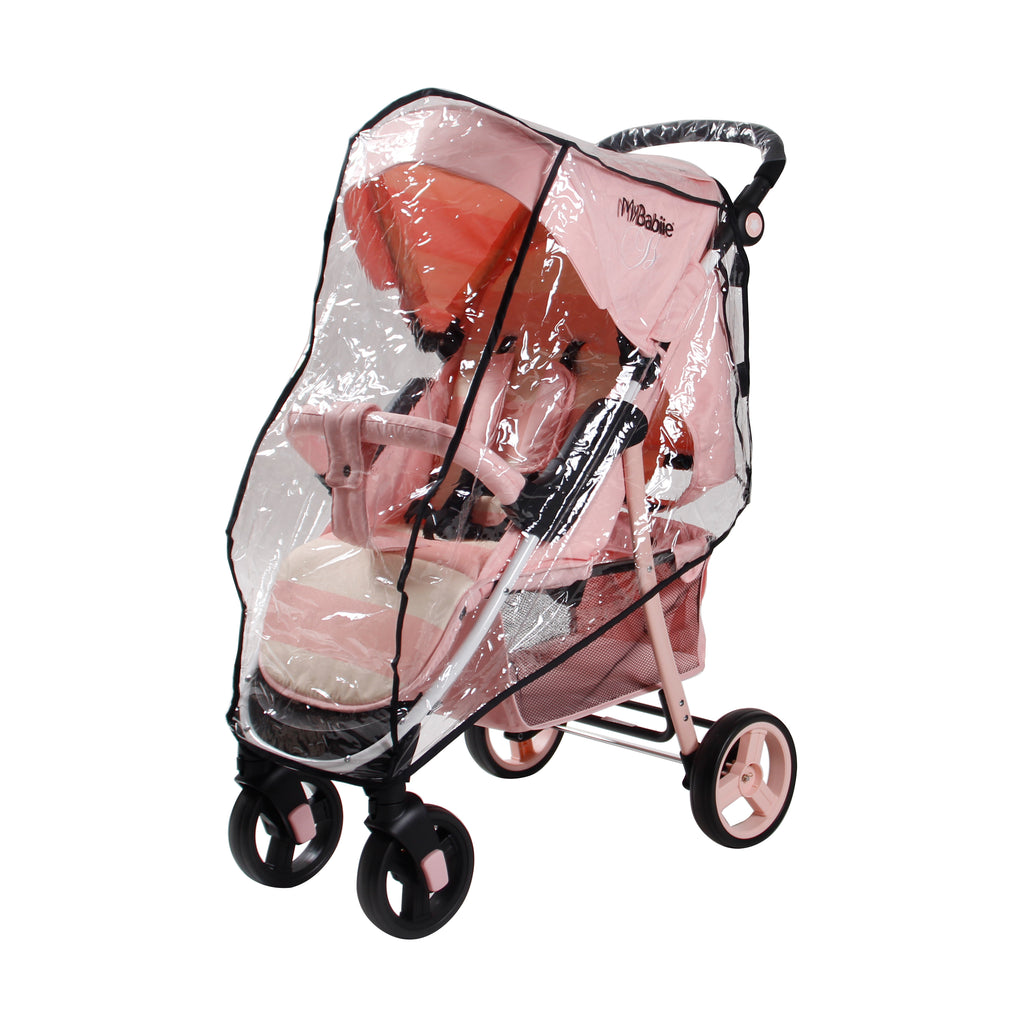 Billie Faiers Pink Stripes MB30 Pushchair