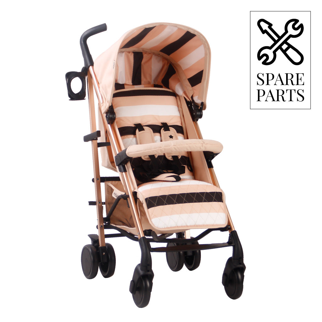 Spare Parts for Christina Milian Blush Stripes Lightweight Stroller