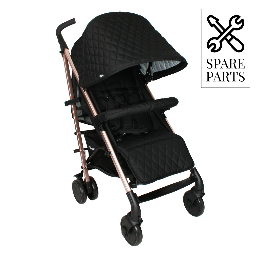 Spare Parts for Billie Faiers Quilted Black Lightweight Stroller