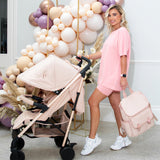 Billie Faiers Rose Gold Blush Lightweight Stroller