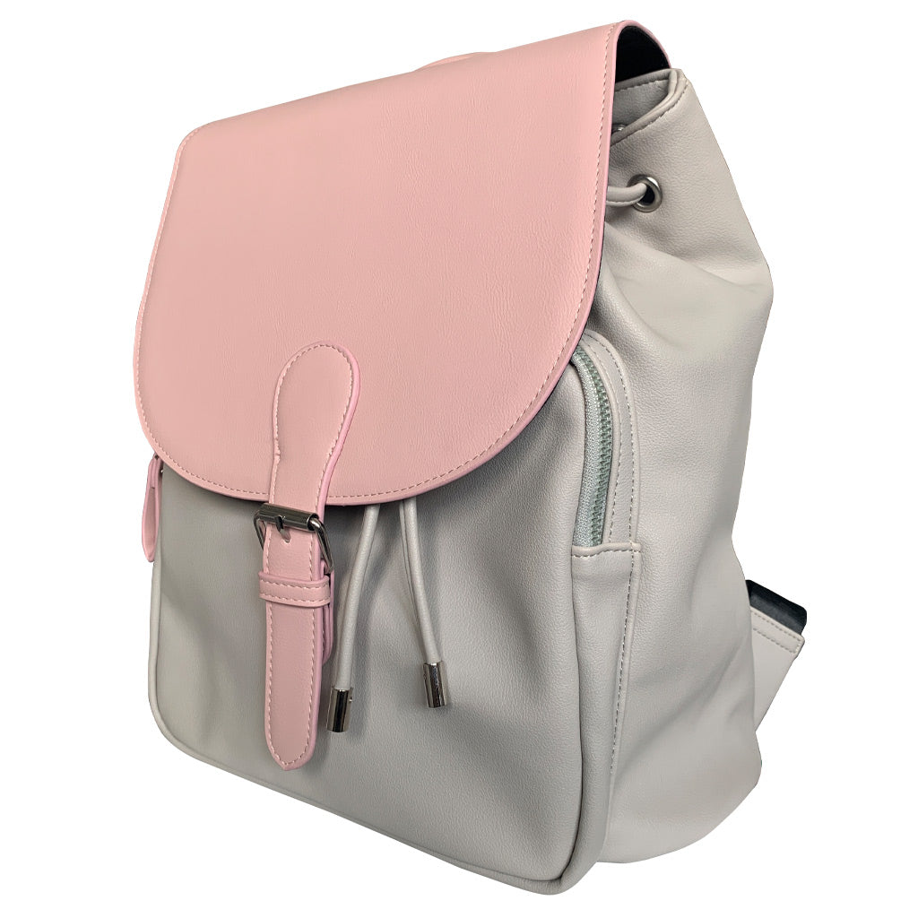 My Babiie Dani Dyer Grey & Pink Backpack Changing Bag
