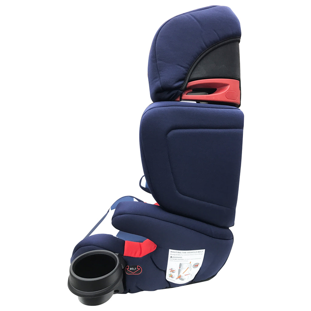 My Babiie Blue Stripes Group 23 Car Seat Booster