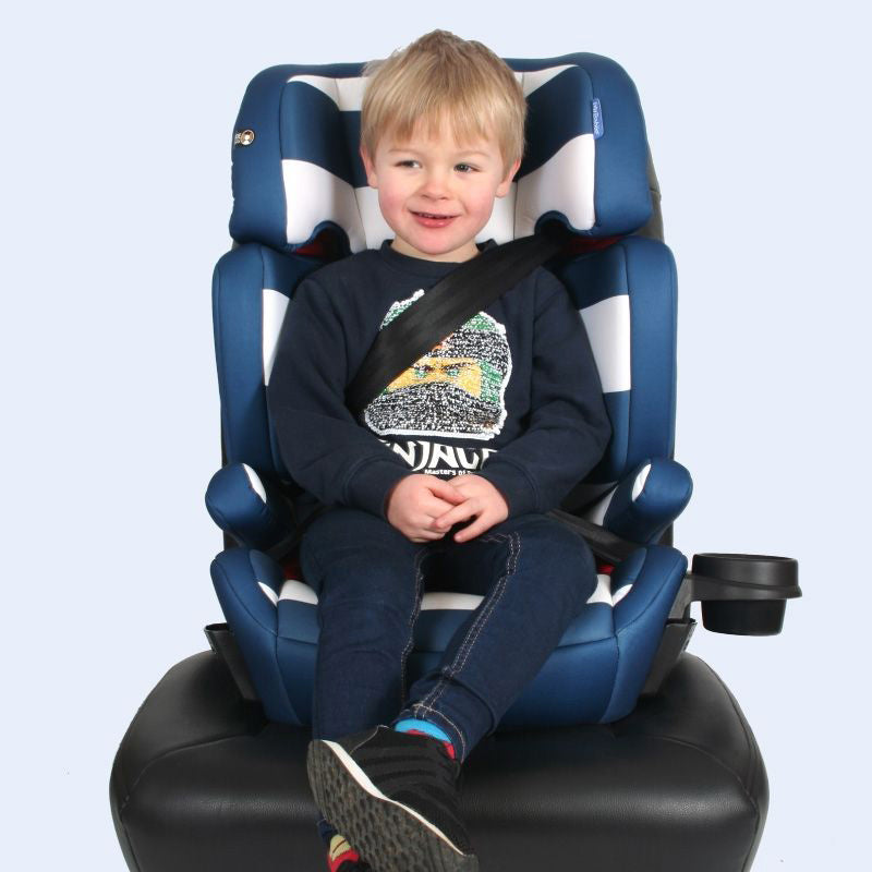 My Babiie Blue Stripes Group 23 Car Seat