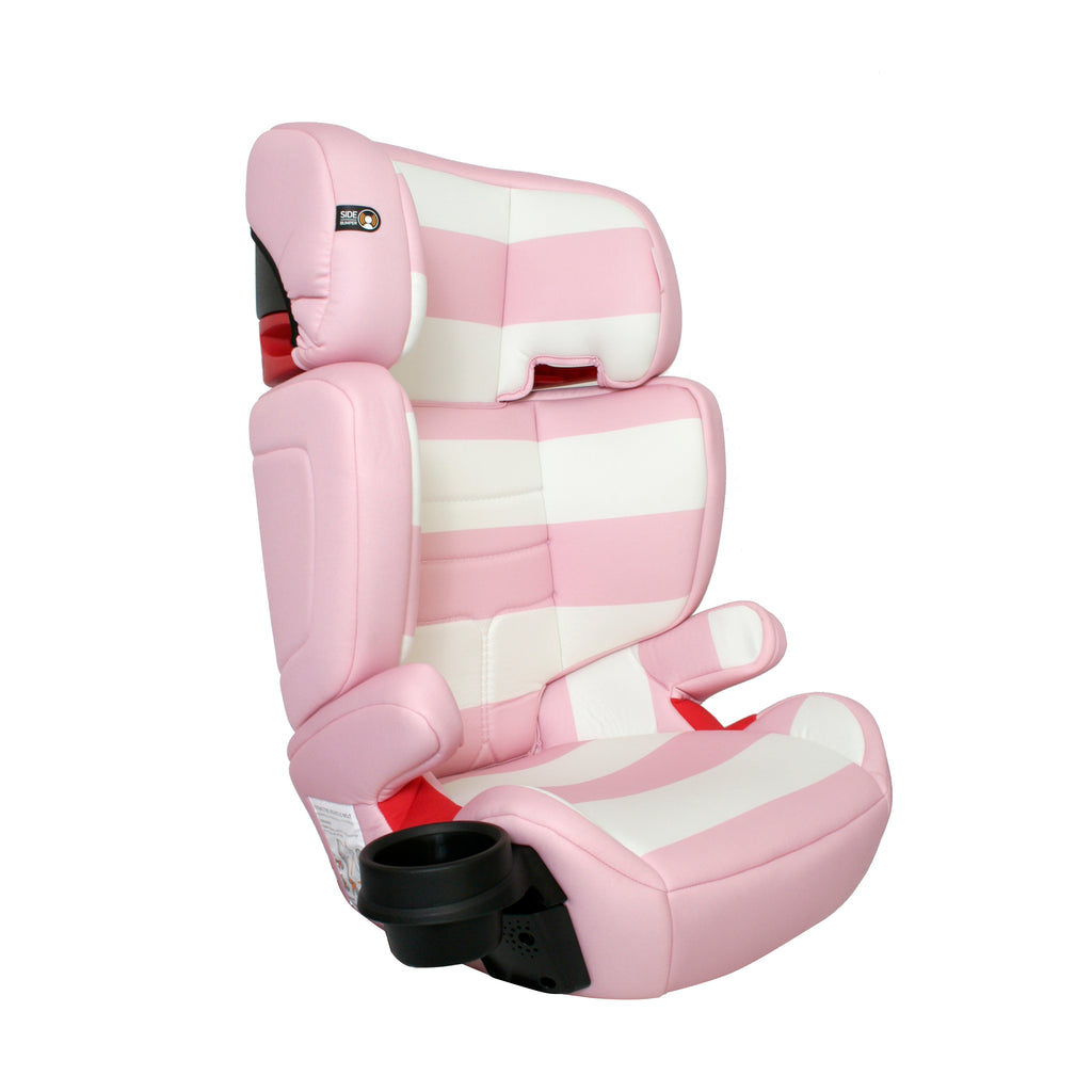 My Babiie Group 2/3 Pink Stripes Car Seat
