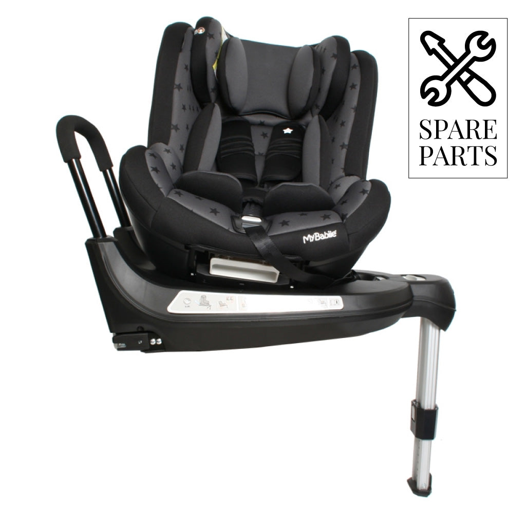 Spare Parts for My Babiie Orbit Group 0+/1 Black Stars Spin Car Seat
