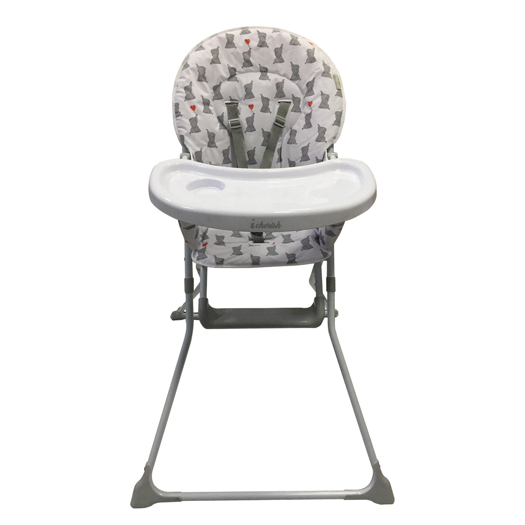 My Babiie Dani Dyer Elephants Compact Highchair