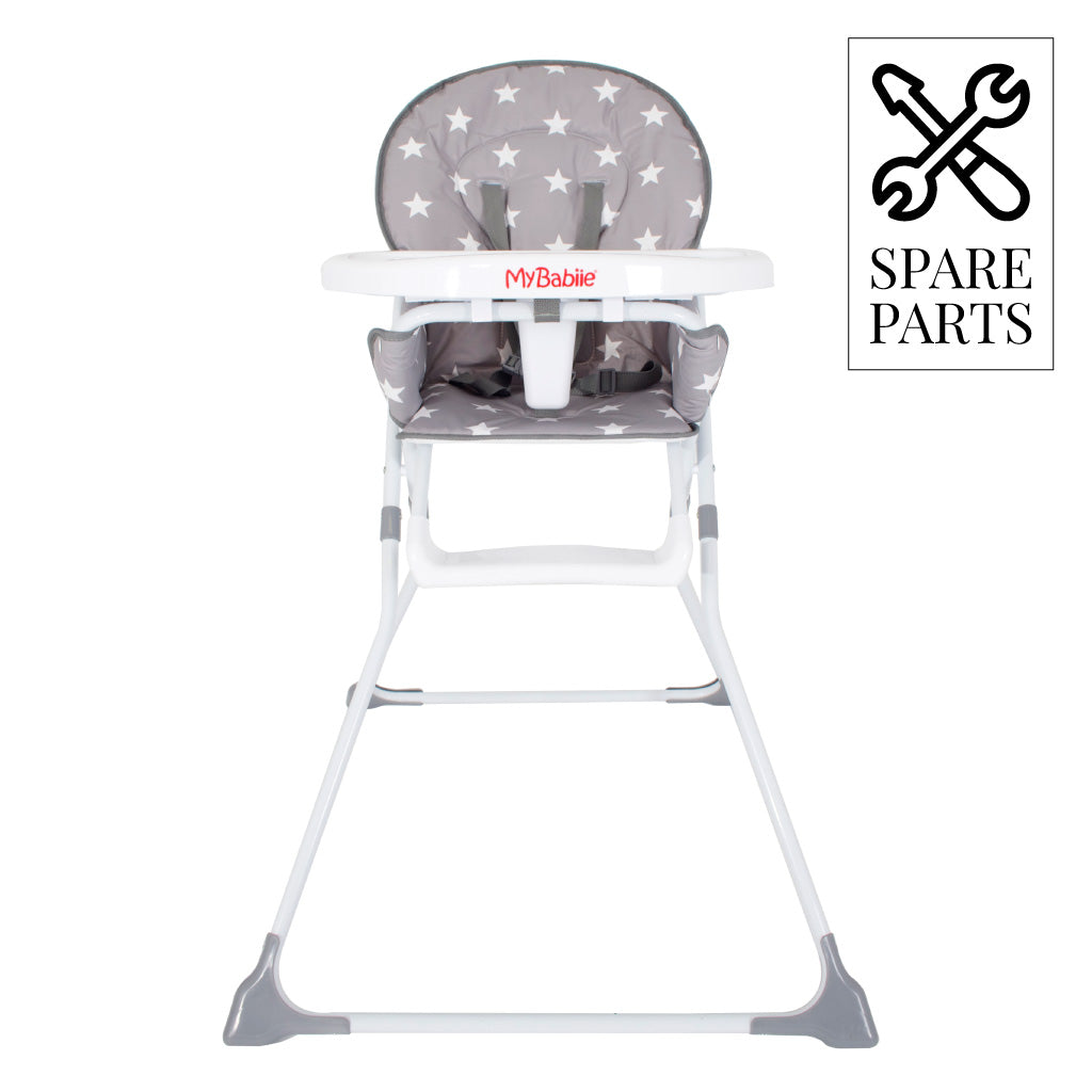 Spare Parts for My Babiie Grey Stars Compact Highchair