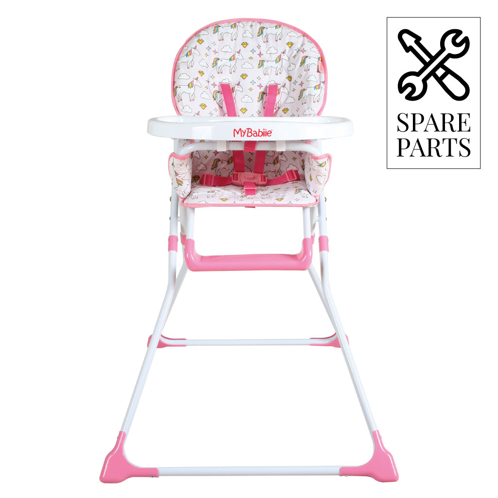 Spare Parts for My Babiie Unicorn Compact Highchair