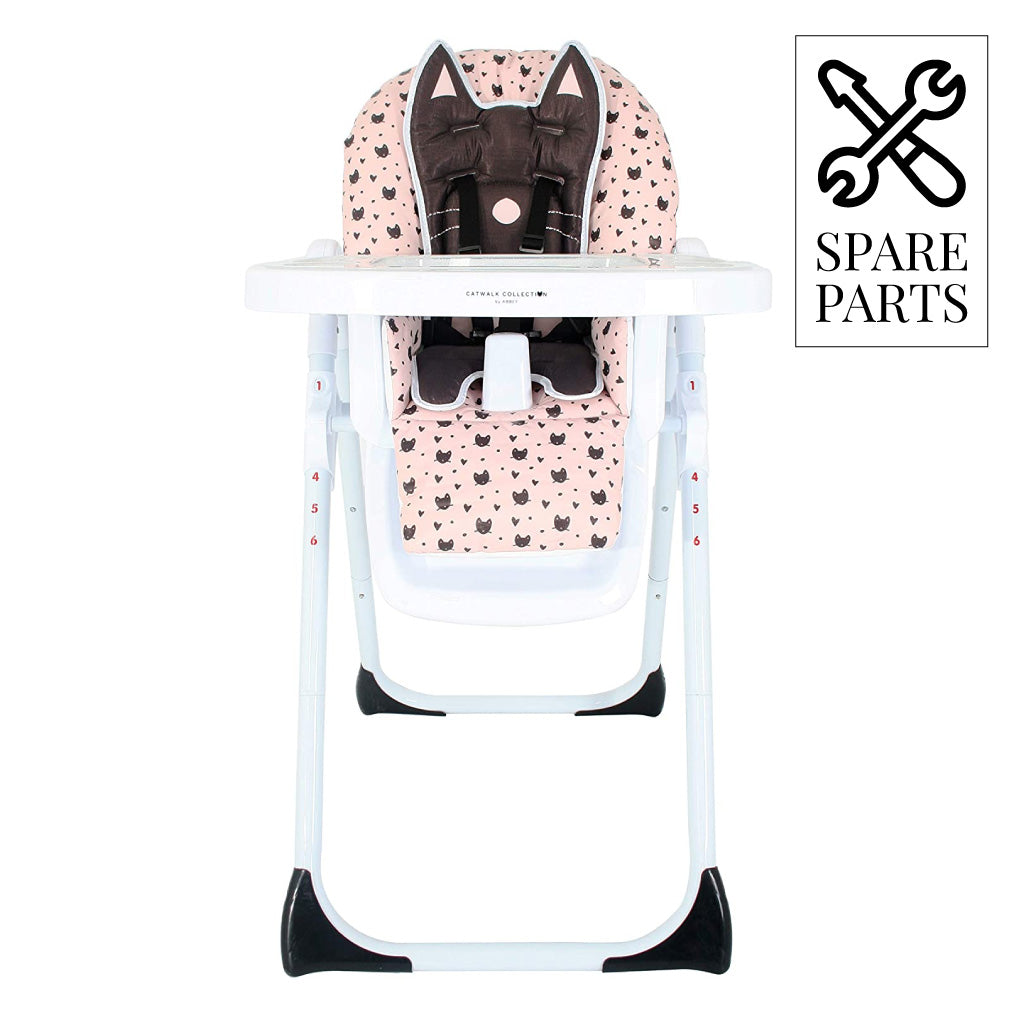 Copy of Spare Parts for Abbey Clancy Black Cats Highchair
