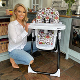 Katie Piper Rose Leopard Highchair