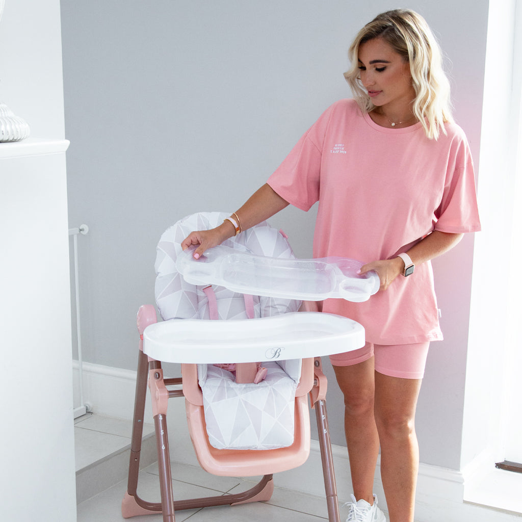 Billie Faiers Rose Gold Premium Highchair