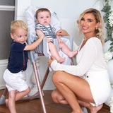 Billie Faiers Rose Gold Grey Premium Highchair