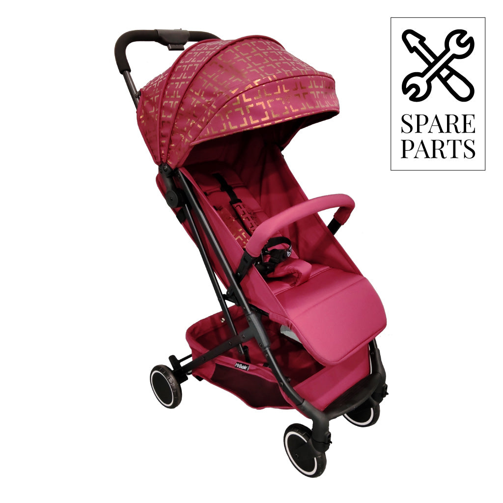 "Spare Parts for Nicole ""Snooki"" Polizzi Soho Burgundy Compact Stroller"