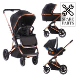 Spare Parts for Christina Milian Rose Gold and Black YBBEL102 Travel System