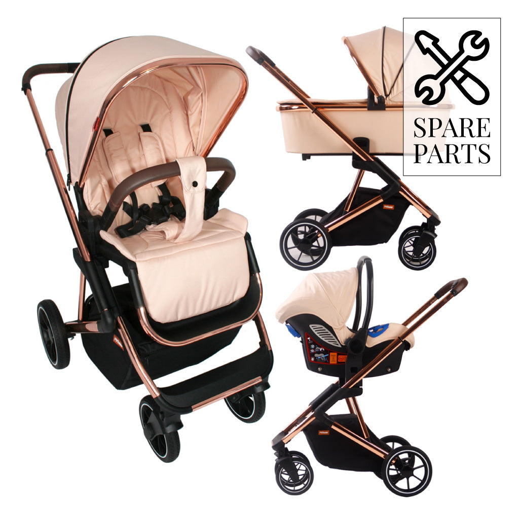 Spare Parts for Christina Milian Rose Gold and Blush YBBEL103 Travel System