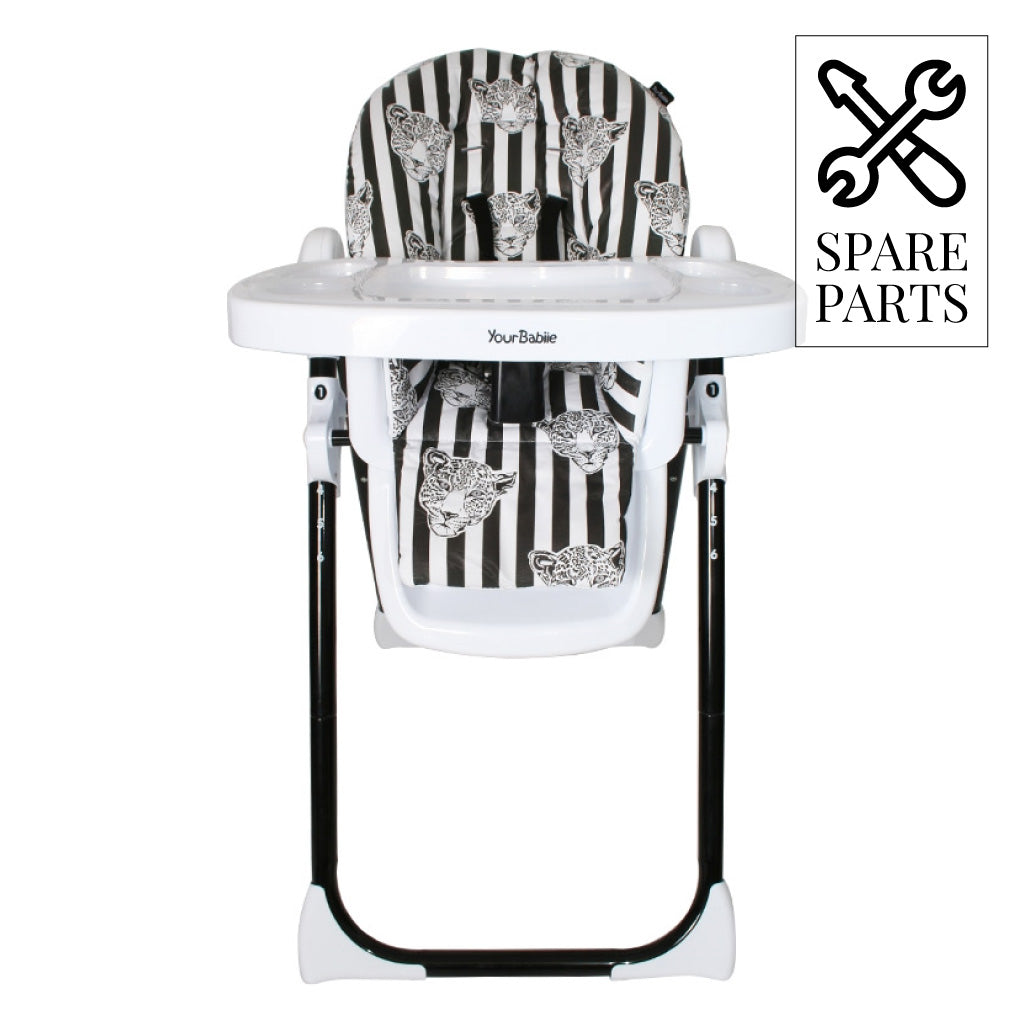 Spare Parts for My Babiie Monochrome Leopard Highchair