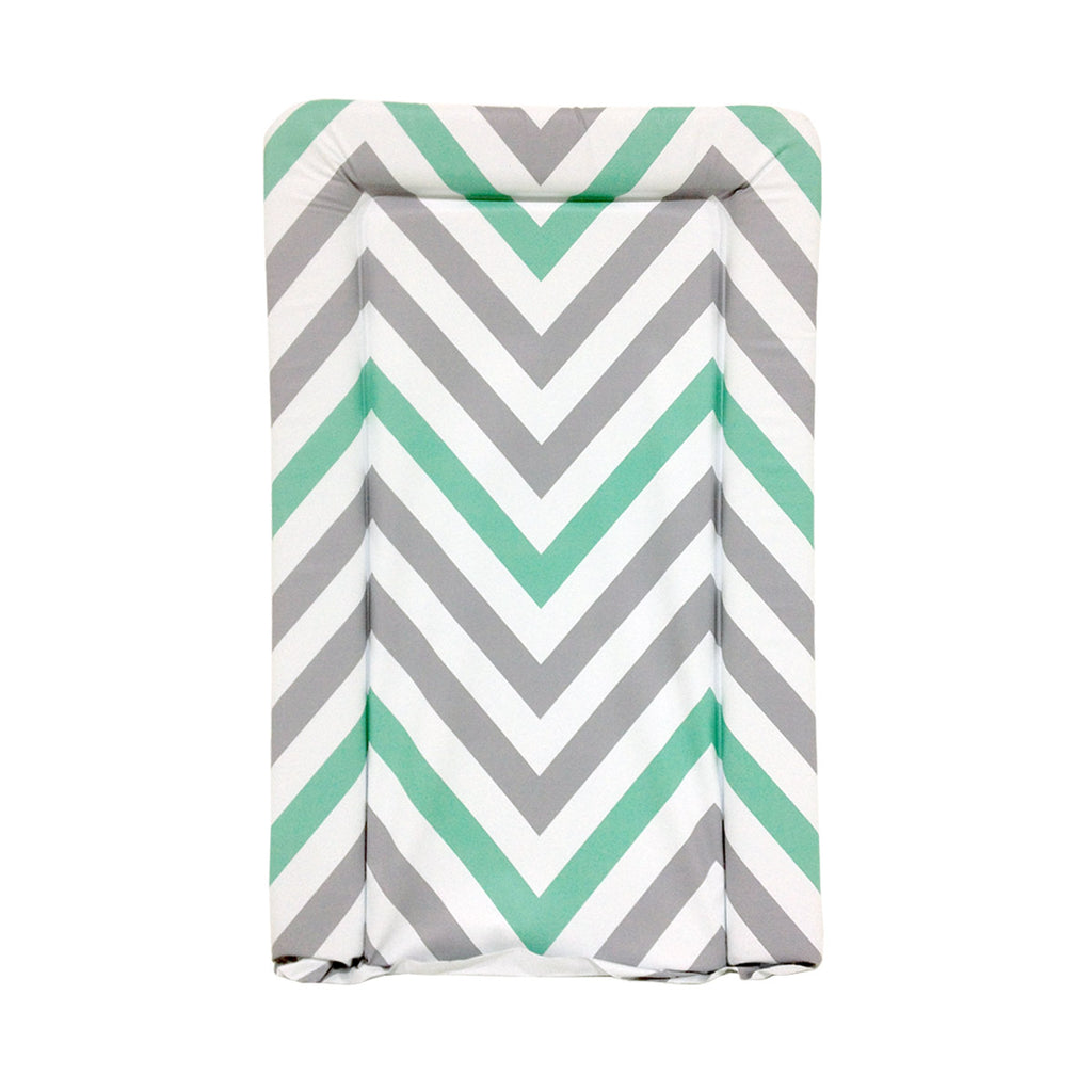 My Babiie Mint green Chevron Changing Mat
