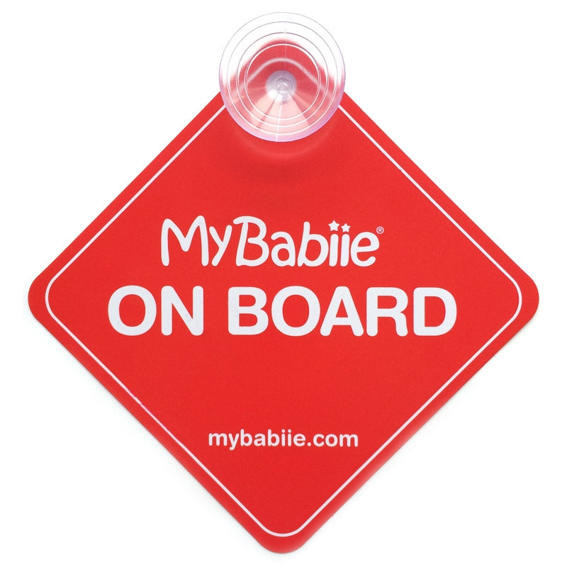 My Babiie Baby on Board Sign
