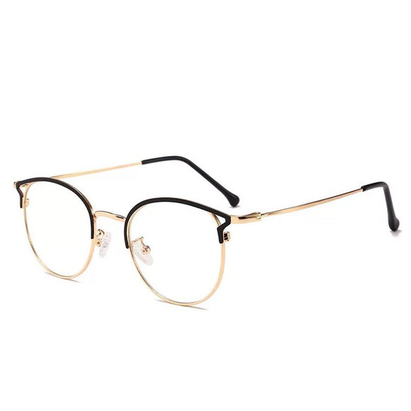 Anti Blue Light Round Eyeglasses