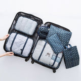 7pcs/set Luggage Organizer Bag