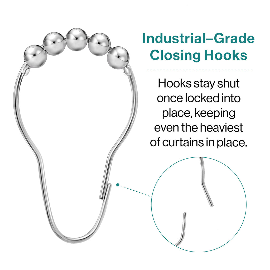 Industrial Grade Closing Hook Shower Ring
