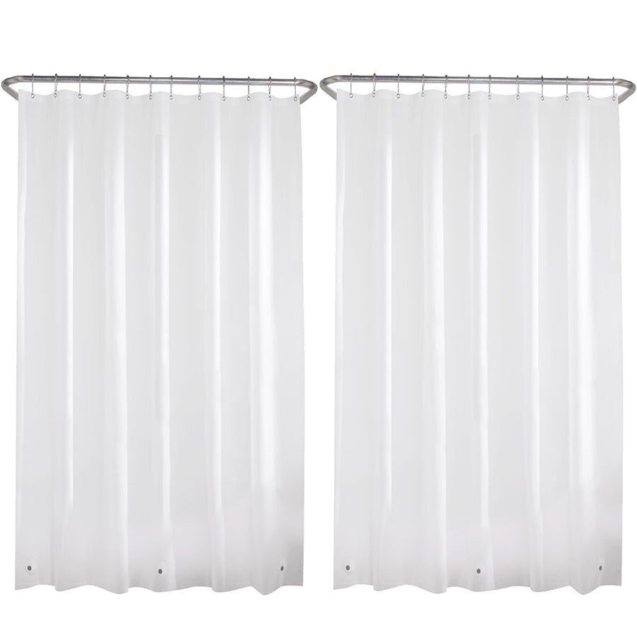 2-Pack of Liba Shower Curtains - In Frosted