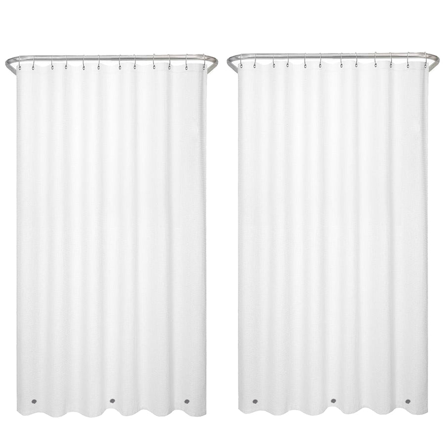 2-Pack of Liba Shower Curtains in White