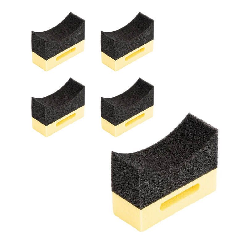 DrySparkle | Tyre Sponge Pack of 5